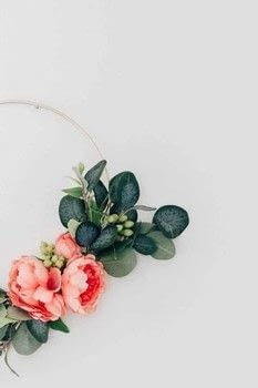 Spring Floral Hoop Wreath .  Free tutorial with pictures on how to make a floral wreath in under 45 minutes using scissors, floral tape, and artifical flowers. How To posted by Decor Hint.  in the Home + DIY section Difficulty: Simple. Cost: Cheap. Steps: 3