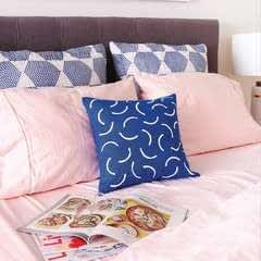 Geometric Patterned Pillow