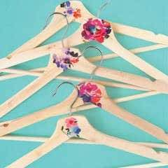 Wooden Hanger Makeover
