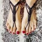 Barefoot Sandals From T Shirt Yarn