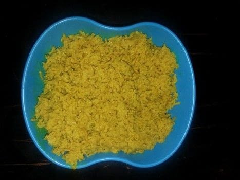 Coconut and Turmeric Rice .  Free tutorial with pictures on how to cook a rice dish in under 60 minutes using coconut milk, turmeric, and basmati rice. Recipe posted by Kimya J.  in the Recipes section Difficulty: Simple. Cost: Cheap. Steps: 1