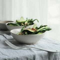 Apple And Asparagus Salad
