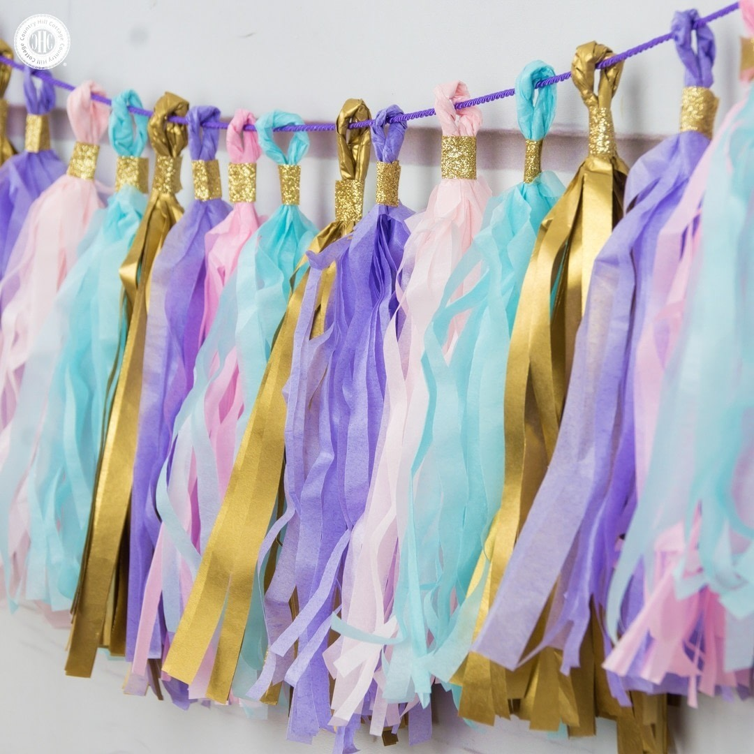 Diy Tassel Garland How To Make A Garland Papercraft On