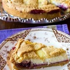 Ricotta And Sour Cherry Crostata