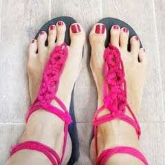 aae3f0be3 How to make sandals   flip flops · Craft tutorials and inspiration ...
