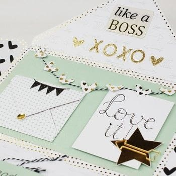 Envelope flipbook .  Free tutorial with pictures on how to make an envelope in under 180 minutes How To posted by Vaessen Creative.  in the Papercraft section Difficulty: Simple. Cost: Absolutley free. Steps: 9