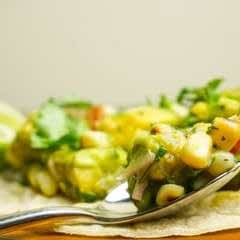 Corn + Avocado Salsa