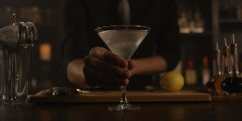 Stir a Martini with Brooklyn's on Boulder St. .  Free tutorial with pictures on how to mix a martini in under 5 minutes by mixing drinks with gin, vermouth, and orange bitters. Recipe posted by A Bite To Eat.  in the Recipes section Difficulty: Simple. Cost: 3/5. Steps: 3