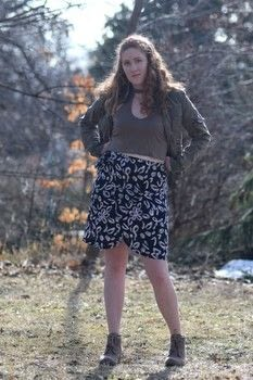 Make your own wrap skirt .  Free tutorial with pictures on how to make a wrap skirt in under 180 minutes by sewing and dressmaking with fabric, ruler, and scissors. Inspired by style and clothes & accessories. How To posted by Carmen B.  in the Sewing section Difficulty: Simple. Cost: Cheap. Steps: 14