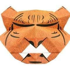 Origami Tiger Mask
