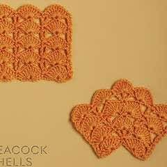 Peacock Shells Crochet Stitch