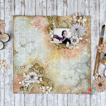 Rustic Vintage Layout with split frame .  Free tutorial with pictures on how to make a mixed media in under 120 minutes by decorating, papercrafting, scrapbooking, and creating with gesso, lindy's moon shadow mist, and sisal. How To posted by Nuneka .  in the Art section Difficulty: Simple. Cost: No cost. Steps: 4