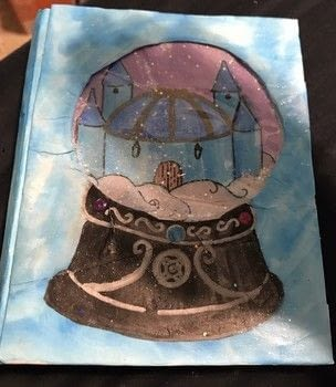 .  Decorate an altered journal in under 95 minutes Version posted by Kinhime Dragon. Difficulty: 3/5. Cost: No cost.
