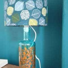 Gin Bottle Lamp