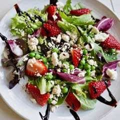 Strawberry And Sweet Pea Salad