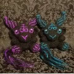 Crochet Baphomet Plush
