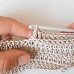 Back Post Double Crochet