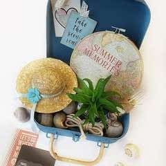 Suitcase With Summer Memories