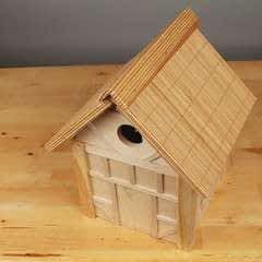 Tudor Style Beams Birdhouse