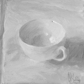 Oils .  Free tutorial with pictures on how to create a drawing or painting in under 60 minutes by creating with oil paint and paint brush. Inspired by tea cup. How To posted by GMC Group.  in the Art section Difficulty: Simple. Cost: Cheap. Steps: 8