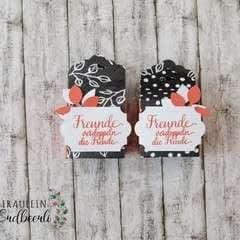 Box Using The Tag Topper Punch By Stampin' Up!