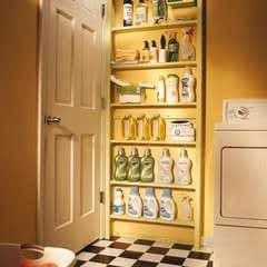 Behind The  Door Shelves