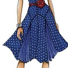 '40s Swing Fashion Illustration