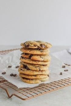Chocolate Chunk Coffee Cookies Recipe .  Free tutorial with pictures on how to bake a cookie in under 75 minutes by baking with unsalted butter, brown sugar, and granulated sugar. Recipe posted by Sam A.  in the Recipes section Difficulty: Simple. Cost: Cheap. Steps: 11