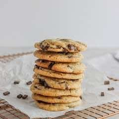 Chocolate Chunk Coffee Cookies