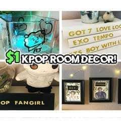 Diy $1 Kpop Lovers Room Decor!