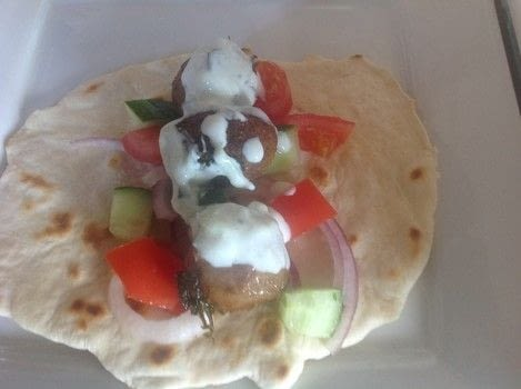 .  Free tutorial with pictures on how to cook a kebab in under 40 minutes by cooking with bread flour, baking powder, and milk. Recipe posted by Super Madcow.  in the Recipes section Difficulty: Easy. Cost: Cheap. Steps: 9