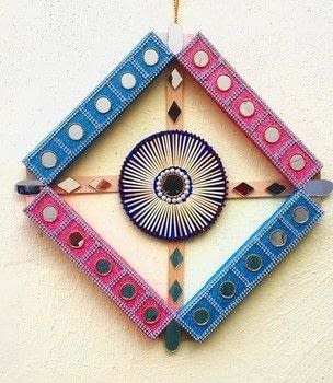 .  Free tutorial with pictures on how to make a wall decal in 10 steps using scissors, hot glue gun, and hot glue gun sticks. How To posted by Sonali T.  in the Home + DIY section Difficulty: 3/5. Cost: Cheap.