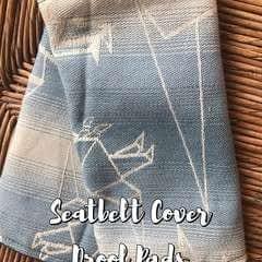 Seatbelt Cover / Drool Pads
