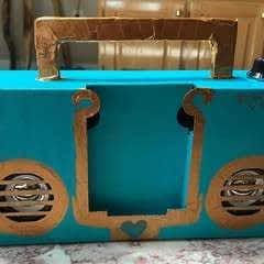 Boombox Repainted