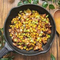 Charred Corn With Miso Butter
