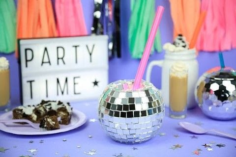 Enjoy your favourite tipple in style! .  Free tutorial with pictures on how to make a glass in under 120 minutes by embellishing with scissors, pencil, and glue gun. Inspired by drinks. How To posted by DiY Blonde.  in the Other section Difficulty: 3/5. Cost: Cheap. Steps: 7