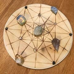 Crystal Grid With Scorch Marker