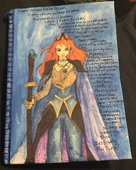 .  Make a notebook journal in under 60 minutes Inspired by disney and fairytale. Version posted by Kinhime Dragon. Difficulty: Simple. Cost: No cost.