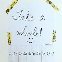 Take A Smile Poster