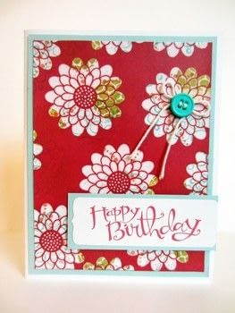 EMERGING COLOR HELLO TUTORIAL .  Free tutorial with pictures on how to make a card in under 45 minutes by papercrafting and cardmaking with stamp, cardstock, and cardstock. How To posted by Linda K.  in the Papercraft section Difficulty: Simple. Cost: Cheap. Steps: 8