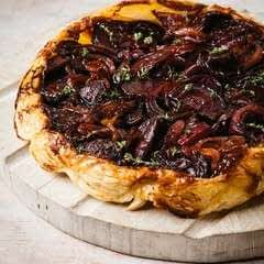 Red Onion And Beetroot Tarte Tatin