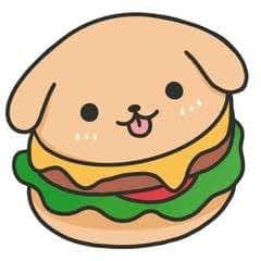 How To Draw Really Cute Hamburgers