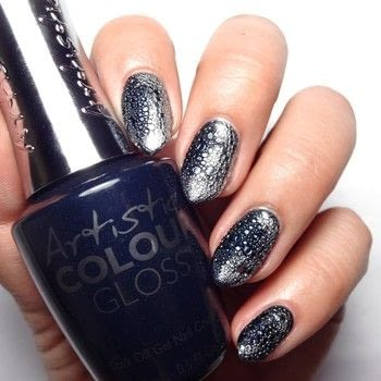 Bubble Scale Mani .  Free tutorial with pictures on how to paint a nail painting in under 60 minutes using blue nail polish, chrome powder, and uv/led lamp. How To posted by Lacquered Lawyer.  in the Beauty section Difficulty: Easy. Cost: Cheap. Steps: 4