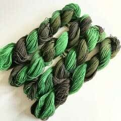 Dye Over: Dyeing Over Colored Cotton/Bamboo Blend Yarn