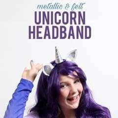 Unicorn Headband Tutorial