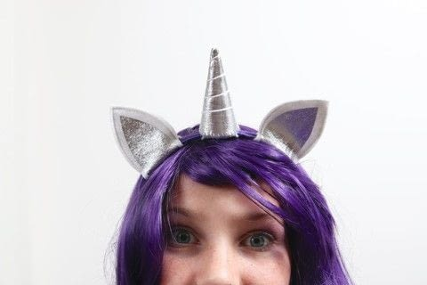 Sew a Unicorn Headband in #ShopShowcase with Benzie Design in Plainfield, Illinois .  Free tutorial with pictures on how to make a hairband / headband in under 60 minutes by sewing with felt, felt, and felt. Inspired by costumes & cosplay and unicorns. How To posted by Shop Showcase.  in the Sewing section Difficulty: Simple. Cost: Cheap. Steps: 8