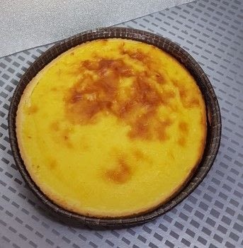 An easy homemade dessert .  Free tutorial with pictures on how to bake a custard tart in under 60 minutes by baking with puff pastry, cold milk, and eggs. Inspired by pies. Recipe posted by campaspe.  in the Recipes section Difficulty: Easy. Cost: Cheap. Steps: 2