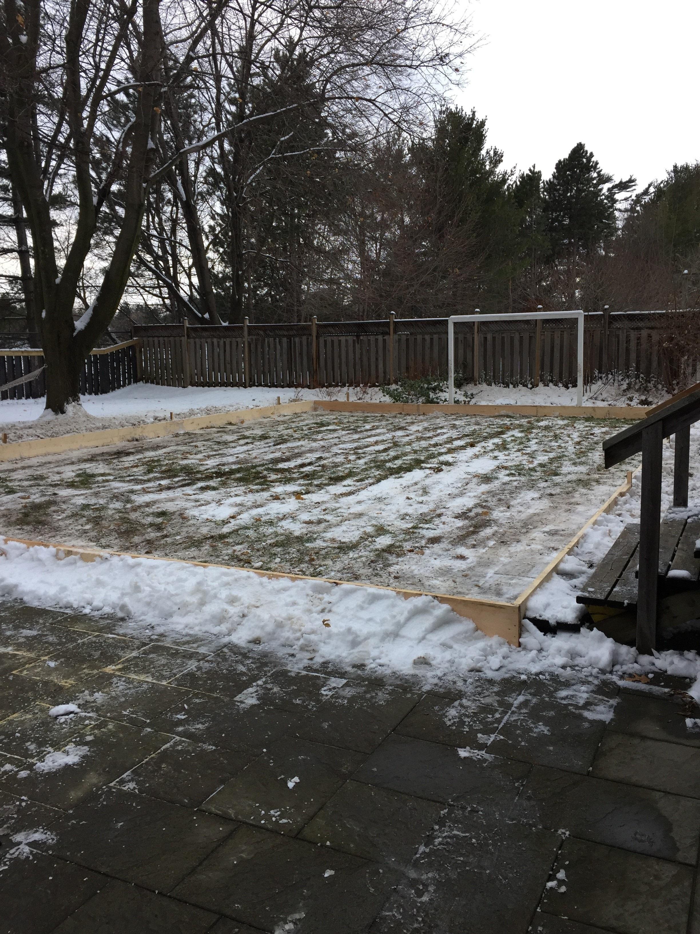 Diy Backyard Skating Rink · How To Make A Plushie Toy ...