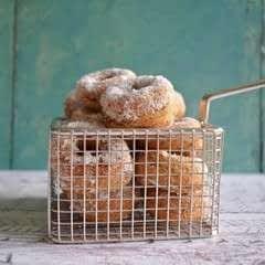 Mini Banana Bread Donuts