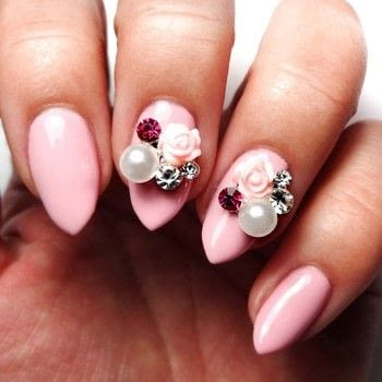Easy Floral Nails .  Free tutorial with pictures on how to paint a nail painting in under 60 minutes using clear coat, krazy glue, and pink nail polish. How To posted by Lacquered Lawyer.  in the Beauty section Difficulty: Easy. Cost: Cheap. Steps: 2